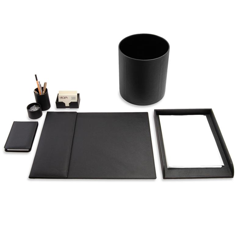 kit-escritorio-apoio-mesa-couro-preto